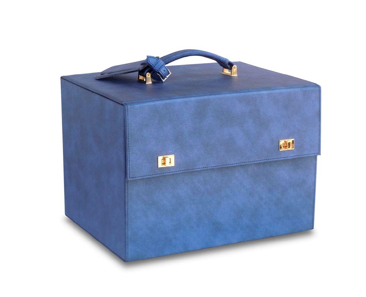 Borsa rigida blu - Bertoncello Graziano