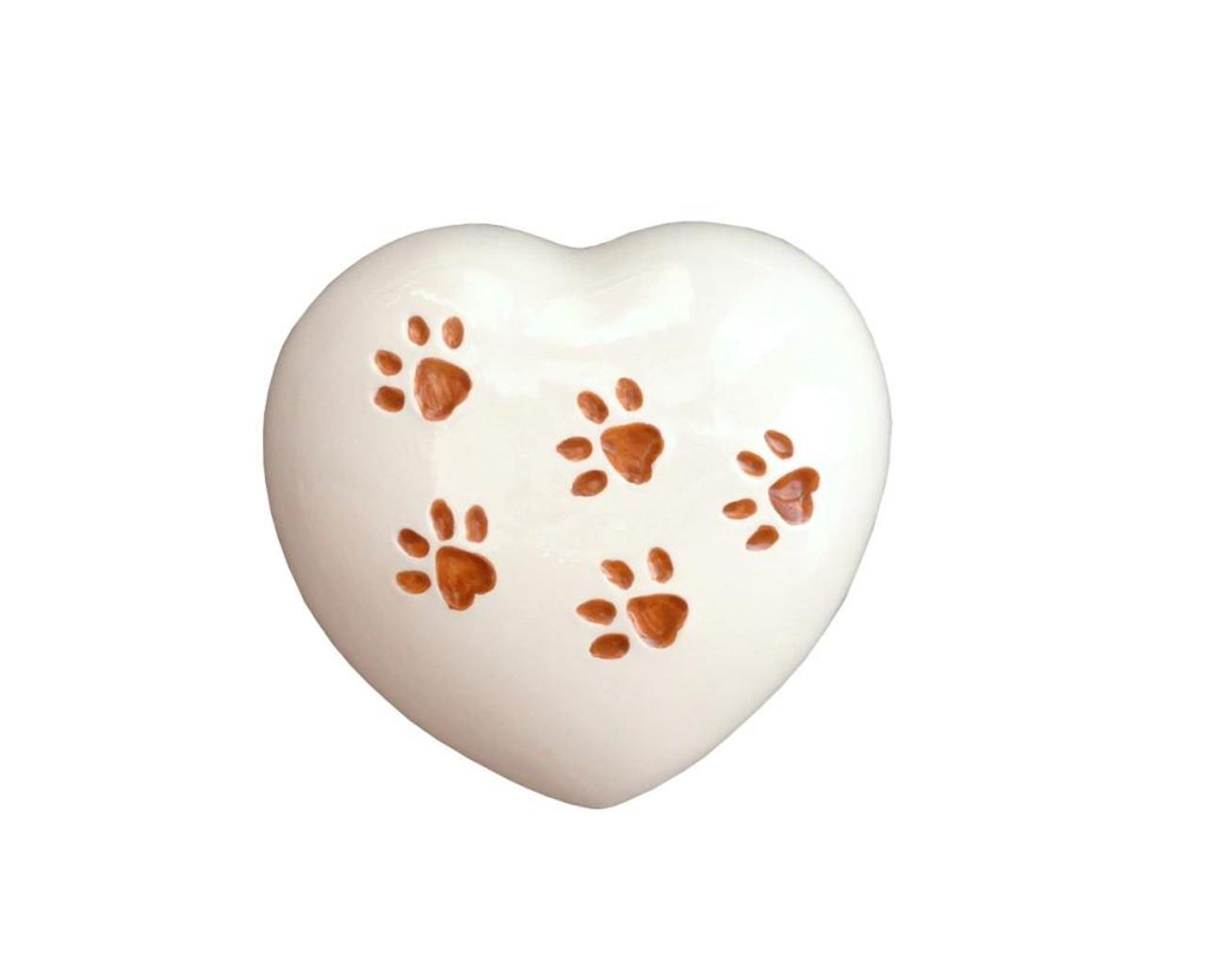 Urna cuore animali - Bertoncello Graziano